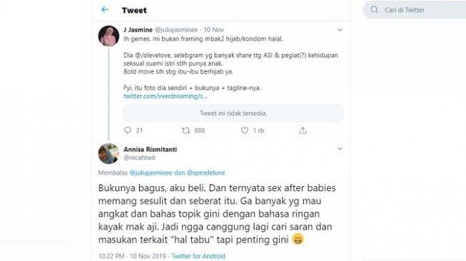 Respons publik tentang buku Citra Ayu (Twitter)