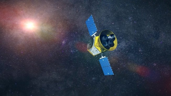 Transiting Exoplanet Survey Satellite (TESS) milik NASA. [Shutterstock]