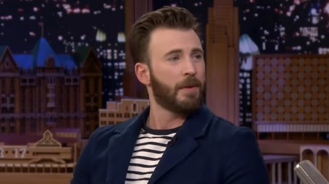 Chris Evans. (YouTube/The Tonight Show Starring Jimmy Fallon )