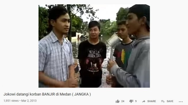 Rabbial Muslim Nasution sempat membuat video parodi Jokowi (YouTube)