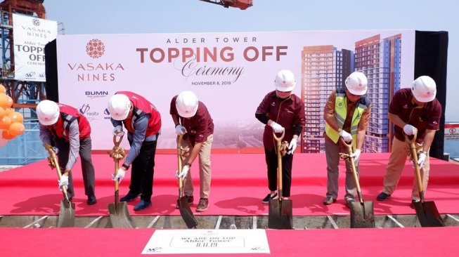 Waskita Realty Topping Off Tower Alder Vasaka Nines