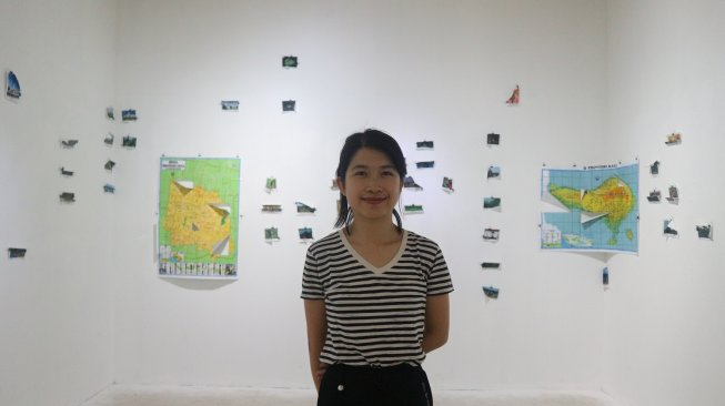 Point of Interest karya Meliantha Muliawan di Biennale Jogja 2019 (Suara.com/Amertiya)