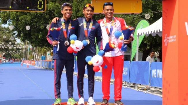 SEA Games 2019: Triathlon Indonesia Sumbang 2 Perunggu