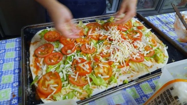 Top 3 Lifestyle : Pizza Vegetarian Toping Capcai, Tips Make up Glowing