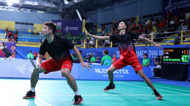 SEA Games: Dipaksa Bermain Rubber Game, Wahyu / Ade Salahkan Angin