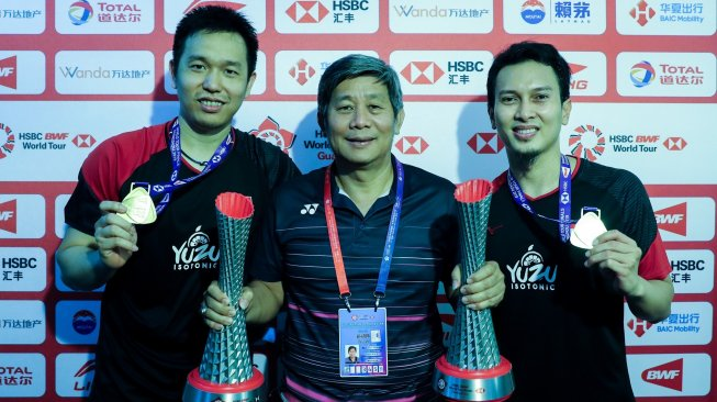 Olimpiade 2020 Ditunda, Herry IP Rombak Program Hendra / Ahsan Cs