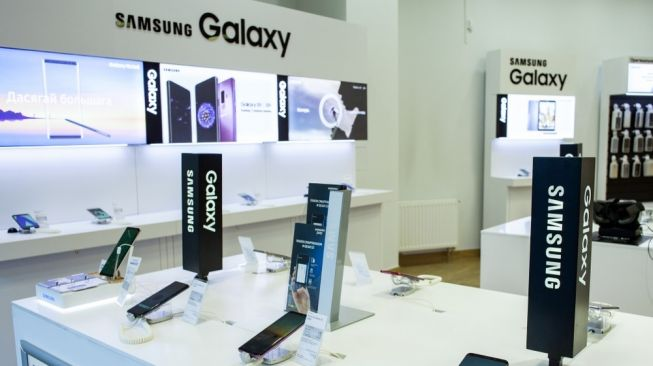 Ilustrasi Samsung Galaxy. [Shutterstock]