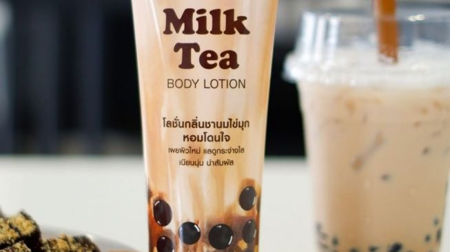 Lotion boba. (Instagram/@mistine_official)