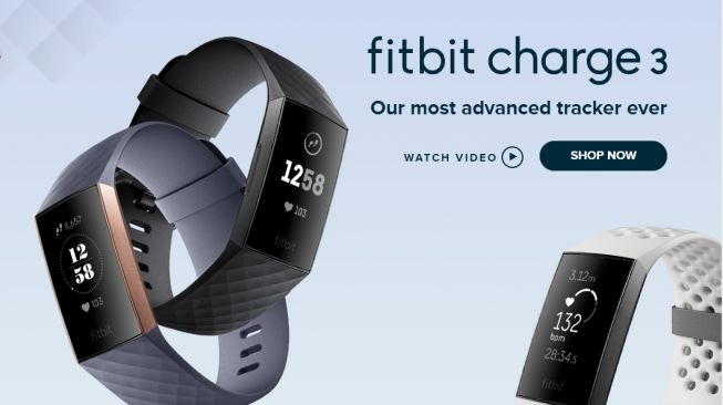 Fitbit Charge 3. [Fitbit]