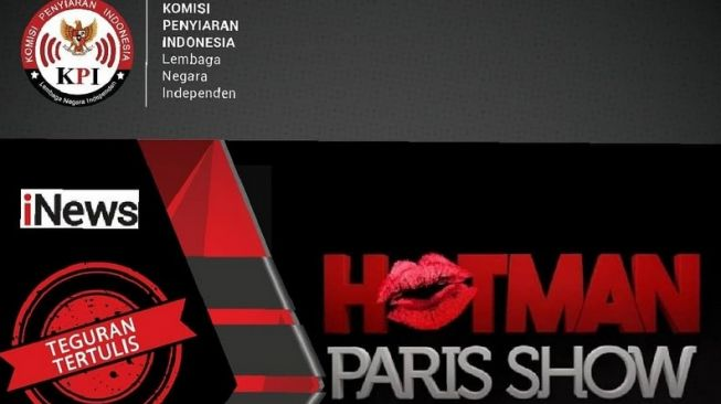 KPI Tegur Hotman Paris Show