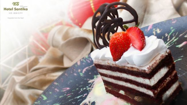 Red Bean Cake. (Dok Hotel Santika Premiere ICE – BSD City)