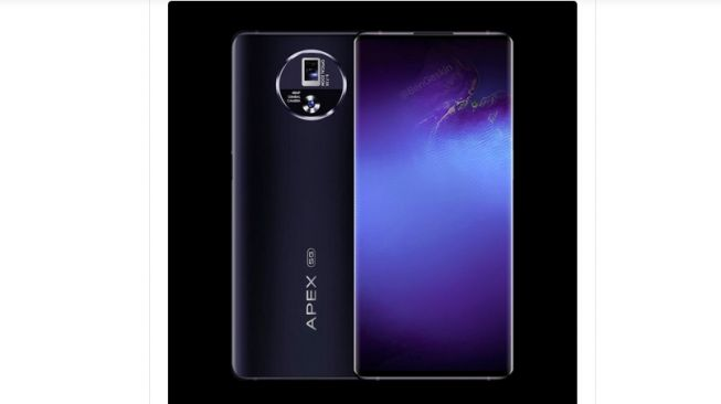 Vivo Apex 2020 [screenshot Twitter @BenGeskin].