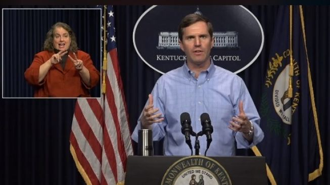 Gubernur Andy Beshear (Facebook/Governor Andy Beshear)