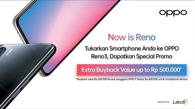Oppo Reno3 Trade In. [Oppo Indonesia]