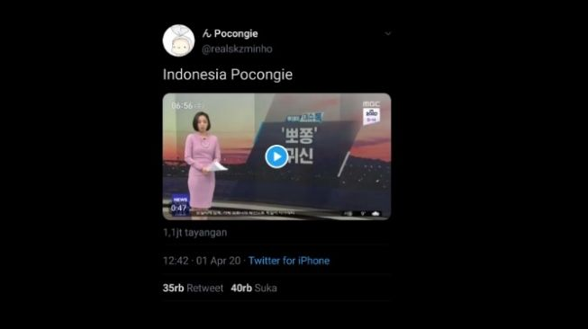 Pocong goes to Korea Selatan. [Twitter]