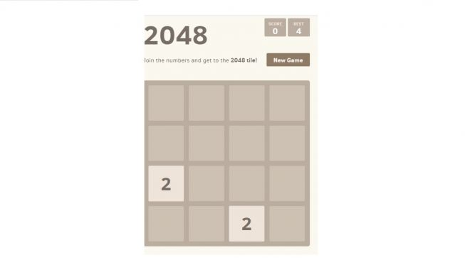 2048. [Play2048.co]