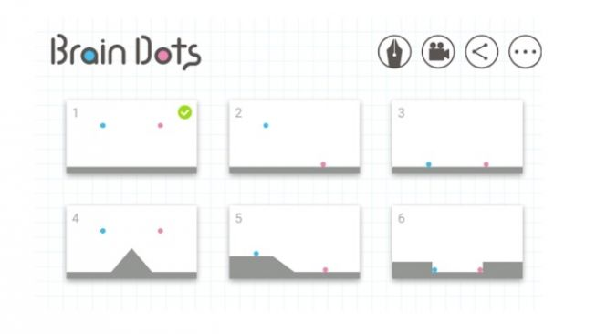 Brain Dots. [Google Play Store]