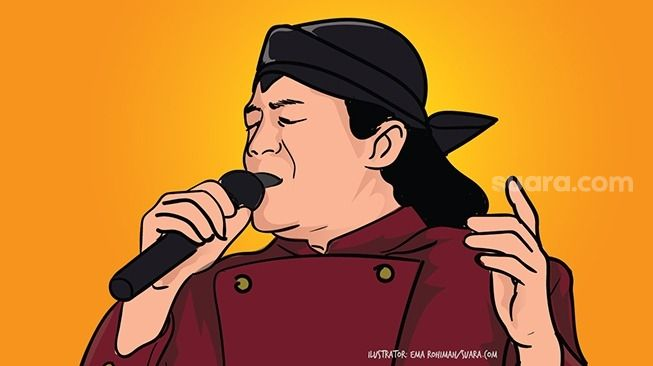 "Didi Kempot Seniman Kemanusiaan ""Godfather of Charity"""