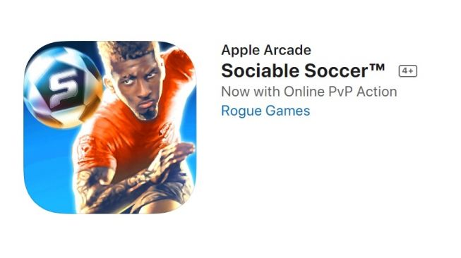 Sociable Soccer. [Apple.com]