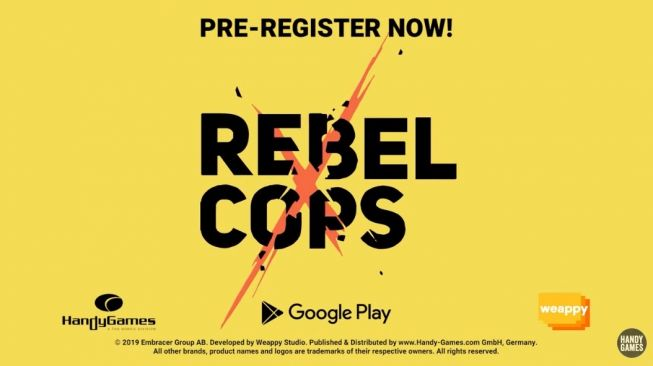 Rebel Cops. [Google Play Store]