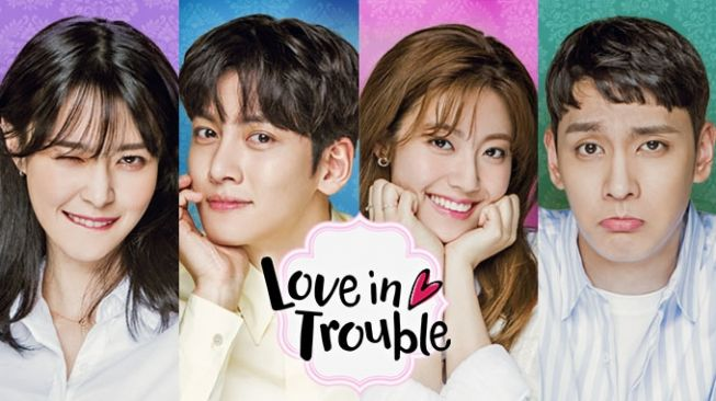 Poster serial Love in Trouble