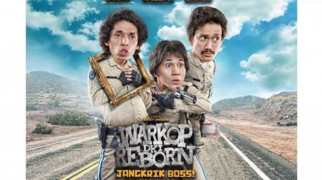 Poster film Warkop DKI Reborn [Falcon Pictures]