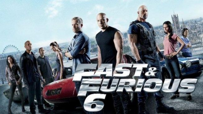 Poster film Fast & Furious 6