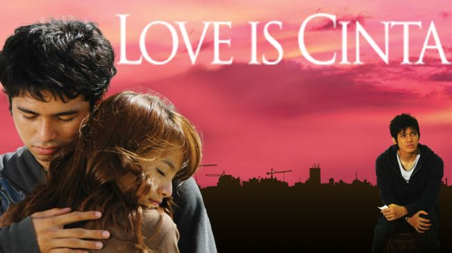 Poster film Love is Cinta