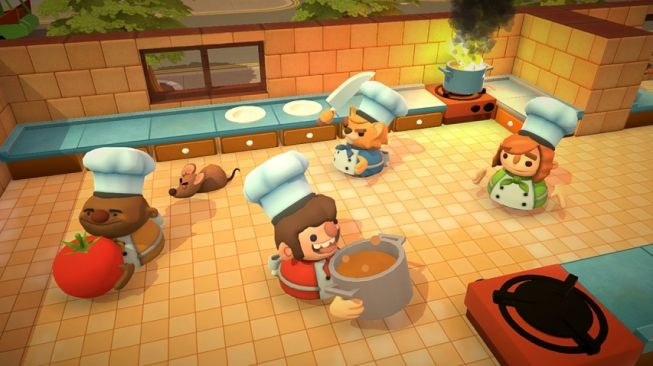 Overcooked Jadi Game Gratis di Epic Games Store, Buruan Download