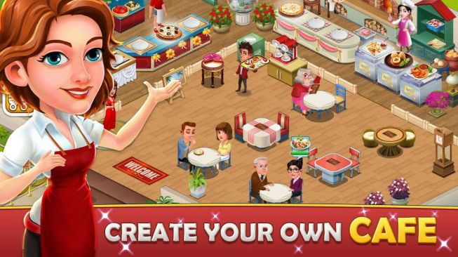 Cafe Tycoon Idle game