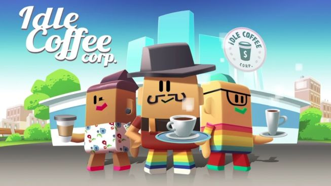 Idle Coffee Corp game