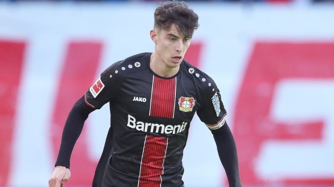 Di Tengah Rumor Transfer, Frank Lampard Terciduk 'Like' Video Kai Havertz