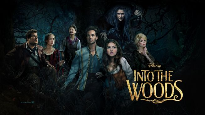 Poster film Into The Woods