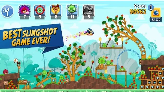 Angry Birds Friends. [Google Play Store]