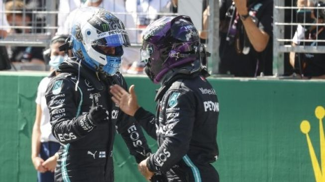 Bottas Pole Position Hamilton Start Posisi Kedua di F1 GP Austria