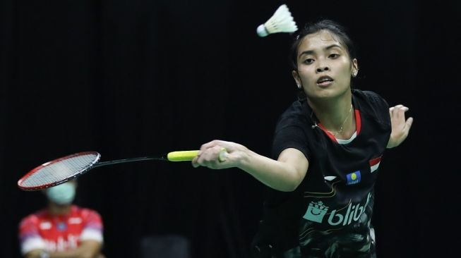 Sempat Tertinggal Gregoria Melaju ke Semifinal PBSI Home Tournament