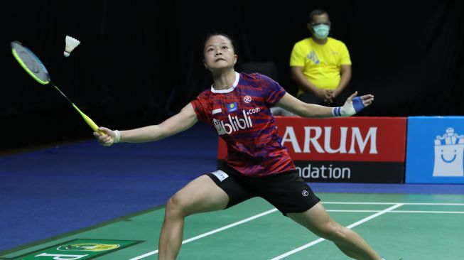PBSI Home Tournament Lagi Fitriani Dipermalukan Pemain Junior