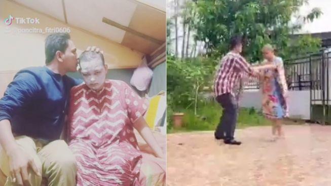 Video Rawat Istri Kanker Otak Viral, Pria Aceh Ini Tuai Simpati Warganet