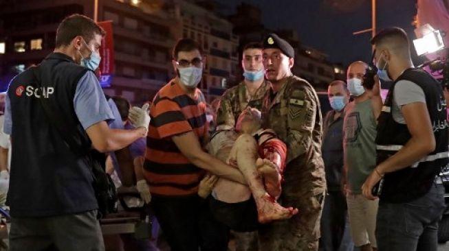 Update Beirut: Korban Tewas Capai 70 Orang dan Ribuan Terluka