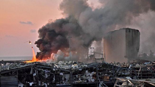 Identitas WNI yang Kena Ledakan Dahsyat di Beirut Lebanon