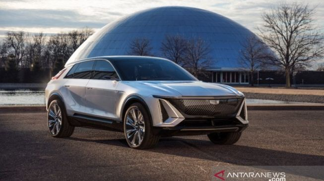 Crossover perdana Cadillac: Cadillac Lyriq [Cadillac, General Motors via ANTARA News].