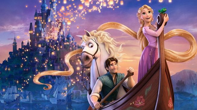 Film Disney Tangled Belajar Kehidupan Dari Rapunzel