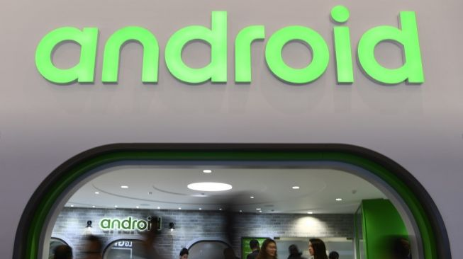 Logo Android. [Gabriel Bouys/AFP]