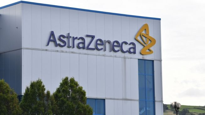 AstraZeneca. [Paul Ellis/AFP]