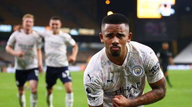 Wolves Vs Manchester City: The Citizens Menang 1-3