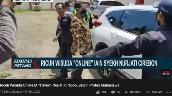 Unggahan channel YouTube Kompas TV. (YouTube/Kompas TV)