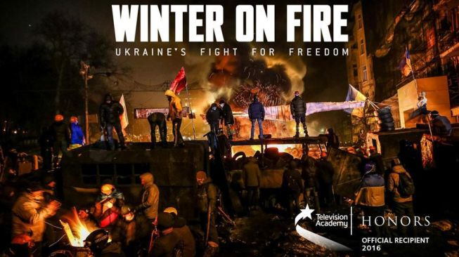 Poster Film Winter on Fire: Ukraine's Fight for Freedom 2015