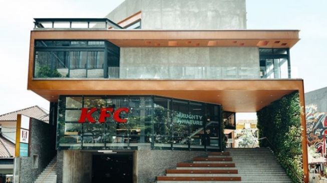 KFC Naughty by Nature Viral, 'KFC ala Sultan' di Senopati