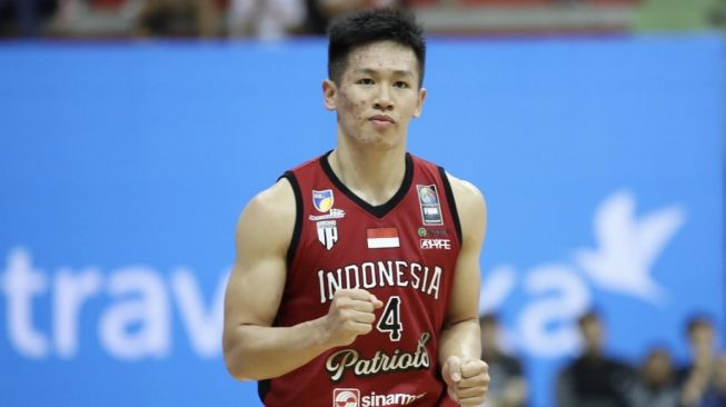 Pemain Indonesia Patriots, Abraham Damar Grahita. [Dok. IBL]