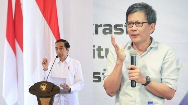 Sebut Jokowi Cabut Izin Investasi Miras Konyol, Rocky: Buzzer Belum Kerja